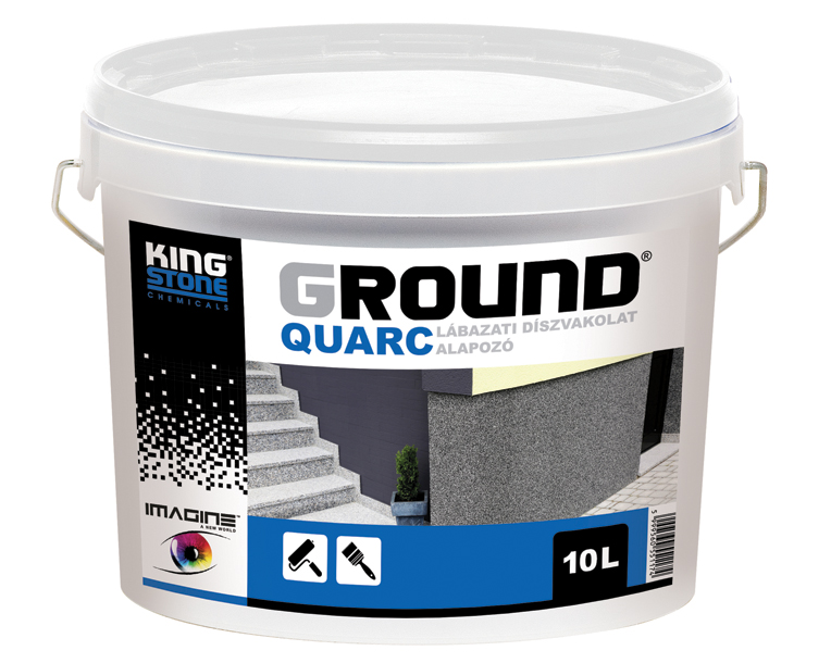 GROUND QUARC, primer for plinth